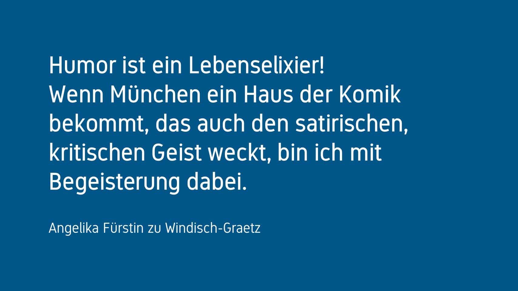 Angelika Fürstin zu Windisch-Graetz Forum Humor