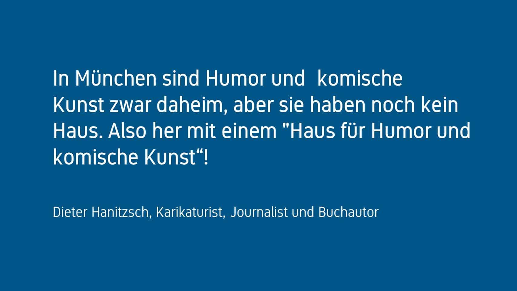 Dieter Hanitzsch Forum Humor