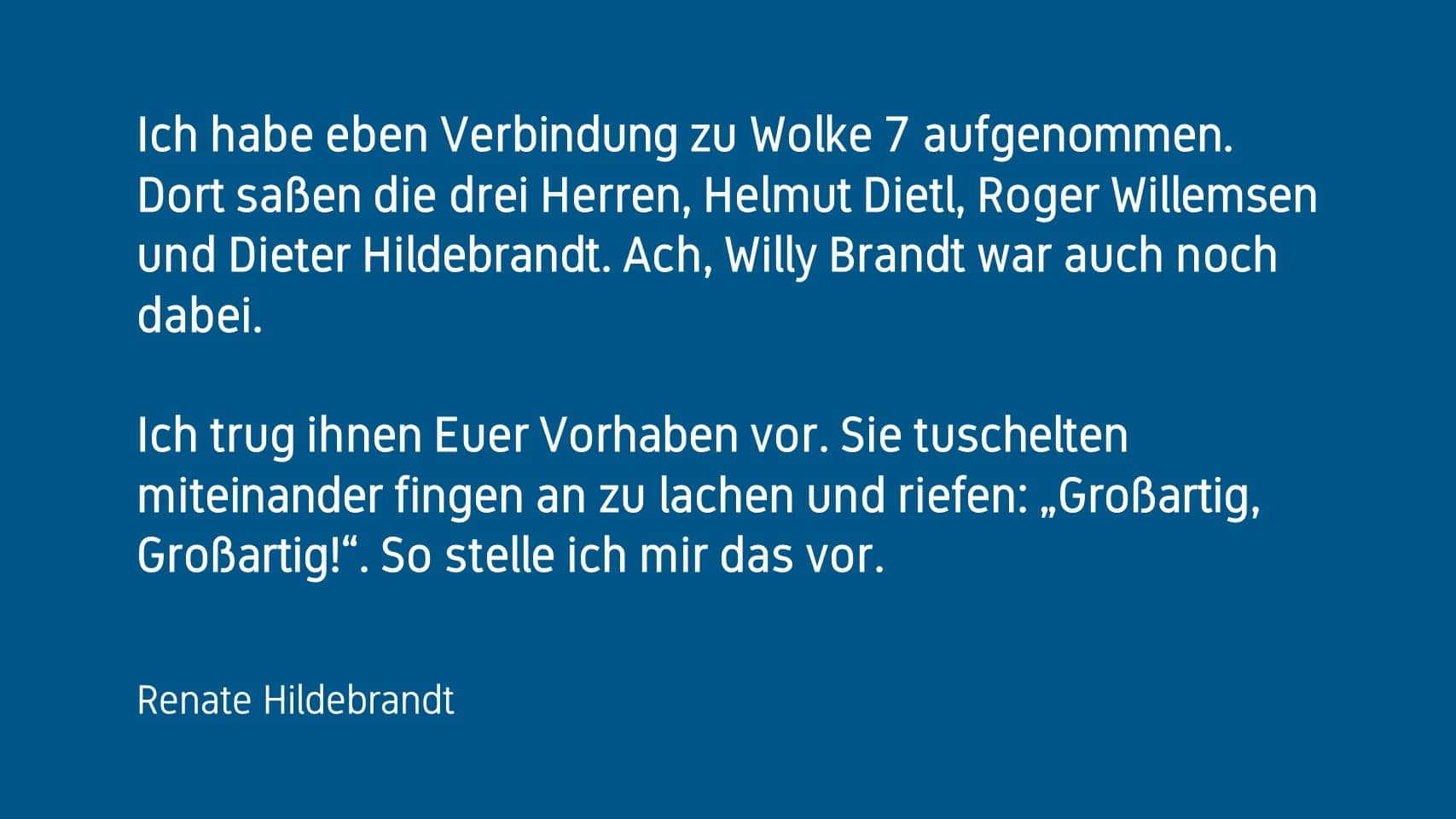 Renate Hildebrandt