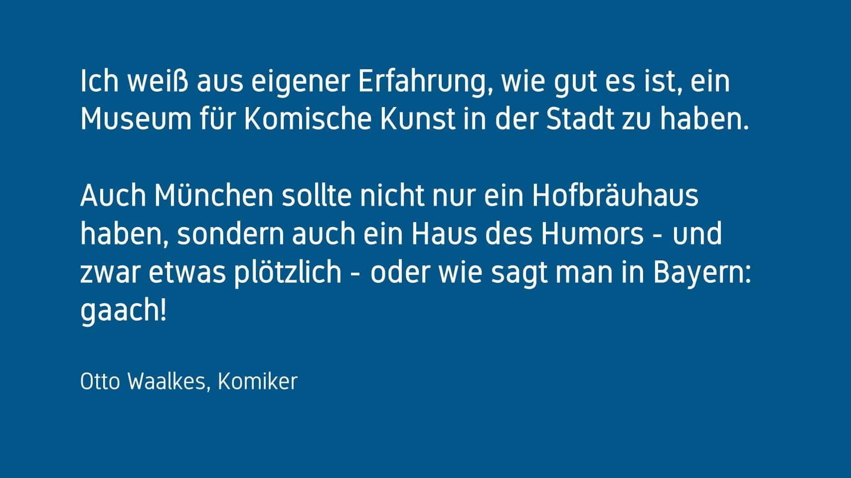 Otto Waalkes Forum Humor