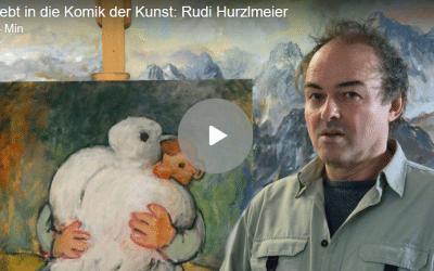Verliebt in die Komik der Kunst – Interview mit Rudi Hurzlmeier