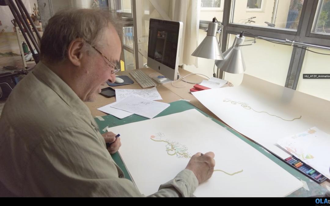 Zu Besuch im Atelier von Rudi Hurzlmeier